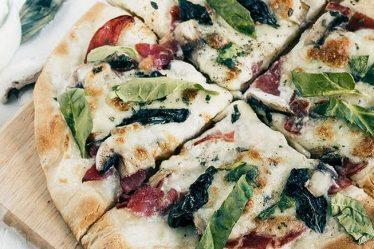 """pizza de champiñones"""