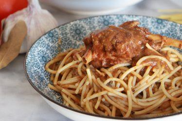 espagueti a la boloñesa sin gluten