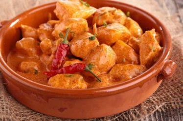 """Pollo """"tailandés y curry de coco"""""""