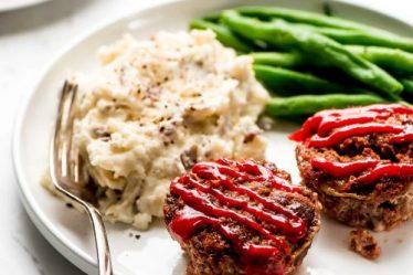 mini pasteles de carne