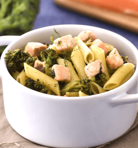 """""""Pasta de brócoli y salmón"""""""